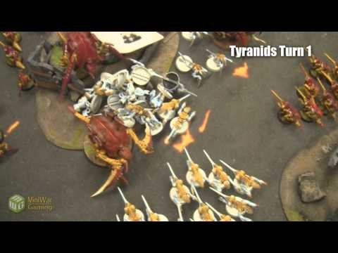 Beat The Cooler: Black Templars vs Tyranids 1750 Part 1/4