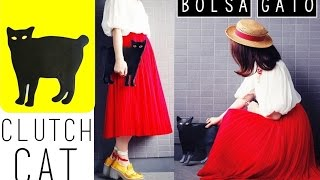 DIY: Clutch Cat - Bolsa / Gato negro ♥