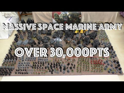 Massive 31,000pt Space Marine Army - 2015 update (WH40K)