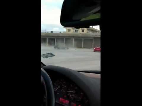 Sports cars lebanon- E36 drifting Mohamad Houry