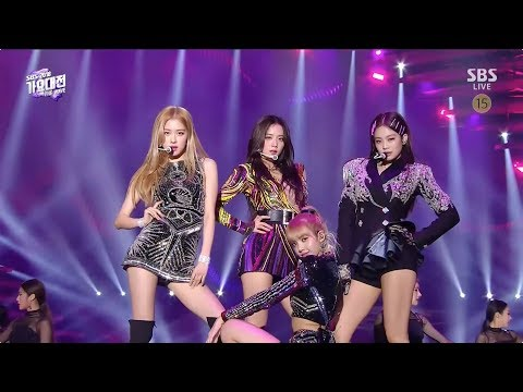 Download Lagu  BLACKPINK - 'SOLO' + '뚜두뚜두DDU-DU DDU-DU' + 'FOREVER YOUNG' in 2018 SBS Gayodaejun Mp3 Free