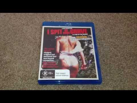 I spit on your grave (1978) Blu-ray unboxing