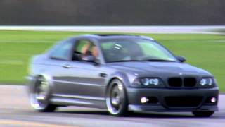 BMW E46 M3 vs. BMW E90 M3 Race