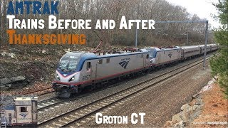 4 Hour Late Regional, Financial Times Amfleet, and More Amtrak Trains Before and After Thanksgiving!
