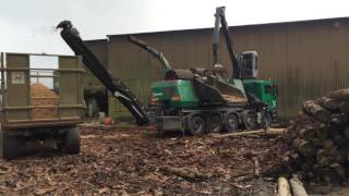 Monster Chipper at work