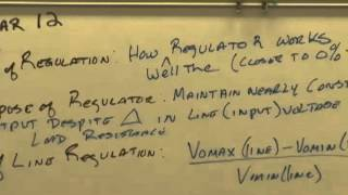BEC 4, Intro to Regulators I