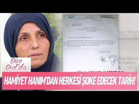 Hamiyet Hanım'dan herkesi şoke edecek tarih! - Esra Erol'da 14 Kasım 2017