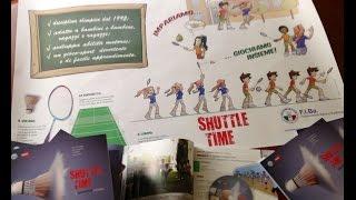 Shuttle Time insegnando il Badminton ai più piccoli