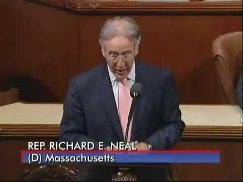 Congressman Richard E. Neal Defends the Health Care Reform Law