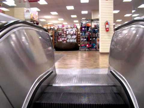 These escalators run very nicely for their age. Brand: Montgomery Floors that they serve: 1-2 Balustrades: Metal Year installed: 1967 Note: This store was originally Woodward and Lothrop...