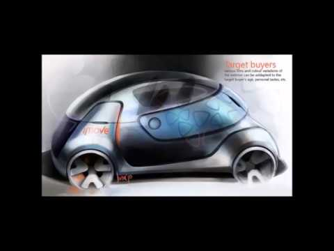Apple Concept Car Imove Concept Car by Apple