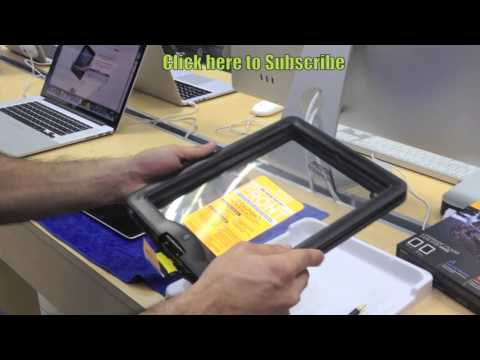 LifeProof nüüd waterproof case for iPad 2. 3 and 4 (Unboxing. Review and Installation)