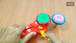 Bộ đồ chơi con quay song đấu có đèn chơi rất vui toy for kids