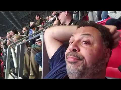 Last two minutes of Super Bowl 53 fans reaction from game