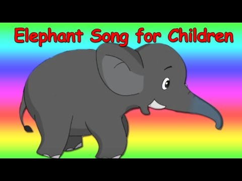 Kids Song - Elephant Steps Circus song for children by Patty Shukla