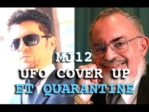 UFO Cover Up Revelations! MJ12 & ET Quarantine - Stanton Friedman & Dark Journalist