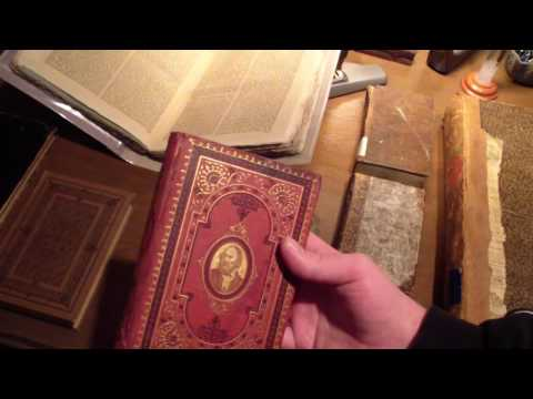 Antike Bücher 18 Jh Und 19 Jh