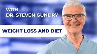 Steven Gundry, MD discussing rapid weight loss and diet with Randy Alvarez