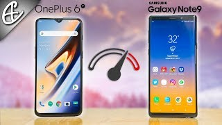 Is Oneplus 6T faster than the Note 9? Samsung Galaxy Note 9 vs OnePlus 6T Speedtest Comparison!