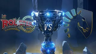KT vs TL | Worlds Group Stage Day 1 | kt Rolster vs Team Liquid (2018)