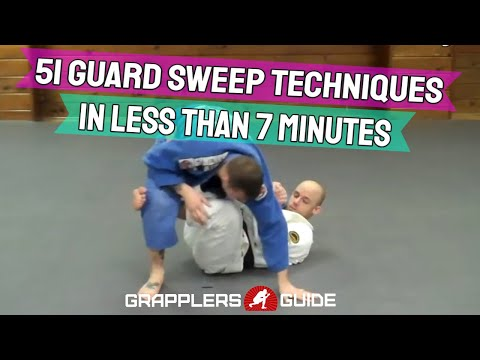 51 BJJ Guard Sweeps in Less Than 7 Minutes - Jason Scully Image 1