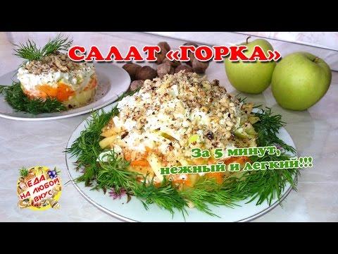 рецепты вкусных и легких салатов с фото и видео
