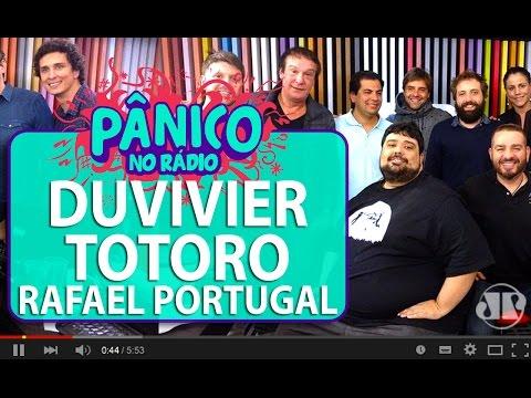 Gregório Duvivier, Totoro e Rafael Portugal - Pânico - 28/06/16