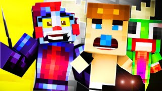 Minecraft School : FIVE NIGHTS AT FREDDY'S - FNAF SISTER LOCATION?! (Minecraft Roleplay) #14