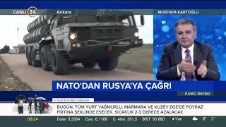 #Rusya-#Ukrayna geriliminde son durum Mustafa Kartoğlu: NATO Ukrayna konusunda bir şey yapmayacak