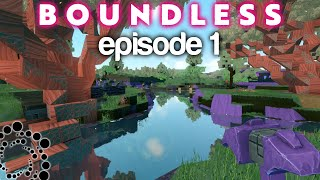 The Boundless Journey Begins! | DBT'S Adventure (Boundless Let's Play) | Episode 1
