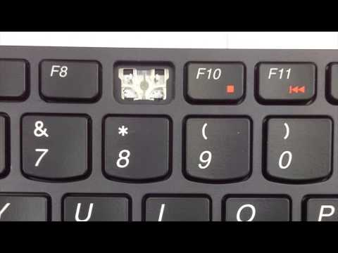 Replace Keyboard Key Lenovo IdeaPad Y580   Fix Laptop Installation Repair