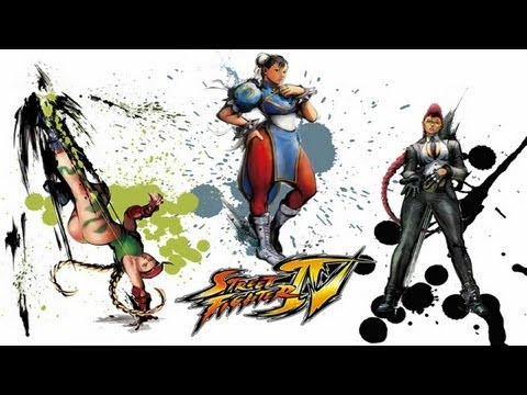 Street Fighter 4 Anime - Chun-Li, Cammy White, C.Viper Anime Movie [HD]