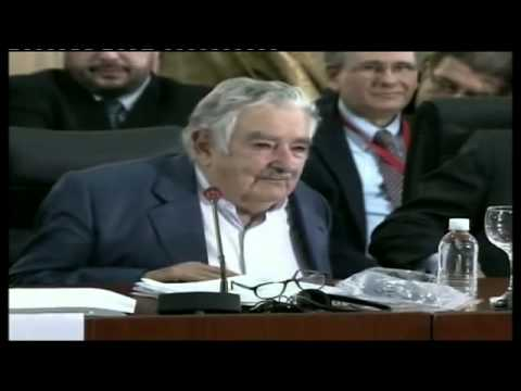 Pepe Mujica - Uruguay-  Cumbre Mercosur Caracas 29-07-2014