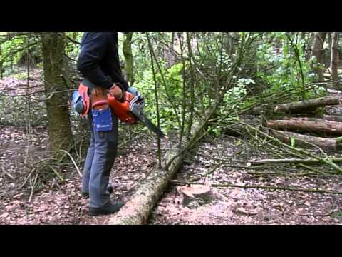 How to Operate a Chainsaw Safely