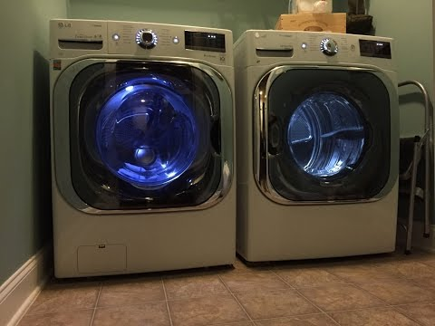 washer machine makes loud noise when spinning