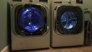 LG Mega Capacity 5.2 CU FT Front Load Washer and 9.0 CU FT Dryer Review
