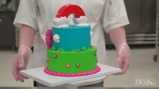 How to Make a Cake with the My Little Pony Rainbow Signature Cake DecoSet®