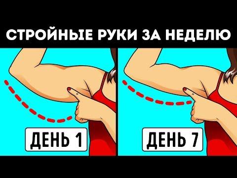 Как Сделать Руки Стройнее за 7 Дней: Нет Дряблым Рукам!