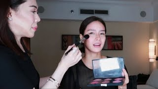 MAKEUP TUTORIAL WITH RB CHANCO ♥️ | Erich Gonzales