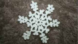 Crochet snowflakes. Winter 2012.