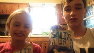 Salt in vinegar chip challenge