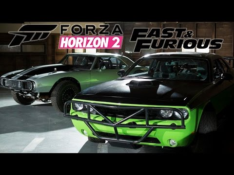 #5 Zagrajmy w Forza Horizon 2 Fast Furious PL Dodge Challenger R T 1080P