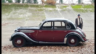 Mike Dawes talks about his 1937 Frazer Nash BMW 326 and the early history of BMW.