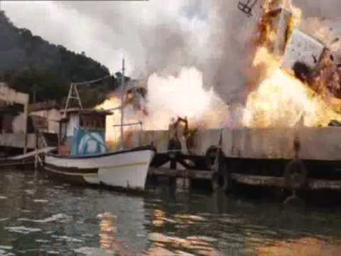 The Expendables-Massive explosion scene(HD DVD Quality)
