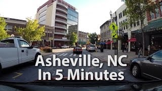 Asheville, NC in 5 minutes - 1000% High Speed Tour