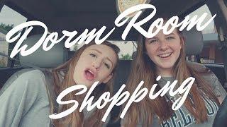 Shopping for dorm room vlog | Ikea, Target, & Thrift