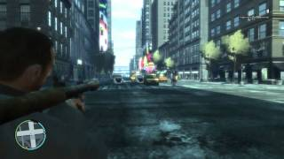 GTA 4 Gameplay HD GF GTX 580 Ultimate Textures v2 + Car Pack v6.2 by Seba Part 3