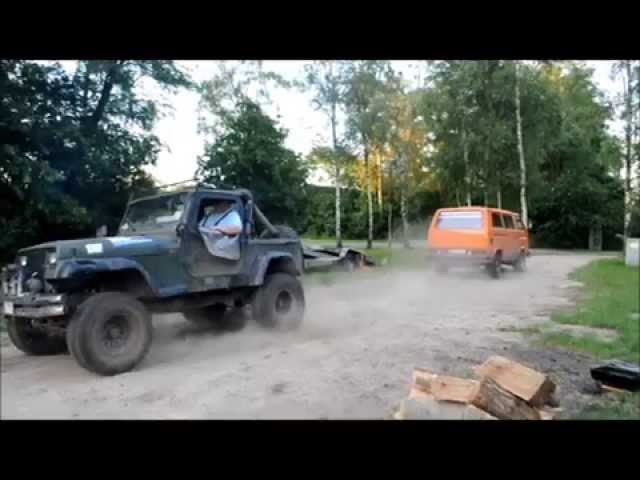 VW T3 Syncro VS. Jeep Wrangler