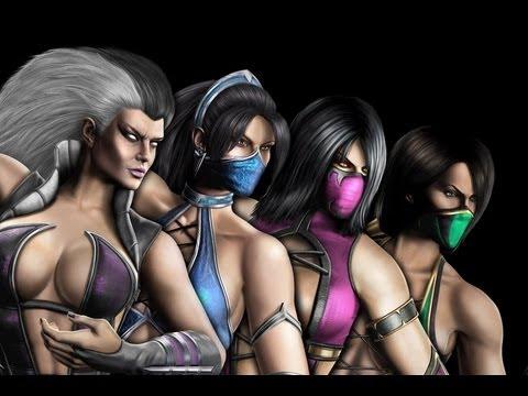 Mortal Kombat 9 Fatalities    LADIES