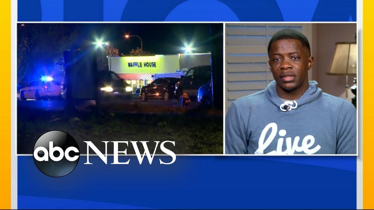Hero who wrestled gun away from alleged Waffle House shooter speaks out